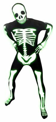 Glow Skeleton Morphsuit - Large.