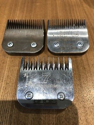 Three Andis Blades 2x 5FC and a 7