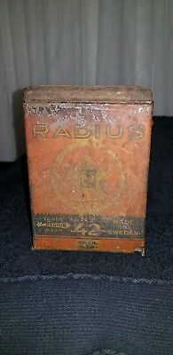 Vintage Kero Radius 42 Mini Stove In Case Very Rare
