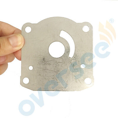 New Water Pump Plate 61N-44323-00 Replaces Yamaha Outboard Engine