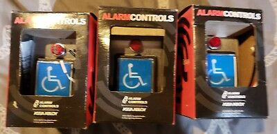 alarm controls handicap buttons TS-5  3pc 1 price
