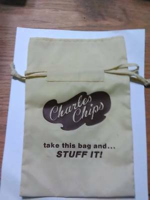 Very Rare Charles Chips Collectible Bag
