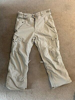 686 Smarty Snowboard Pants - Size Large - Grey