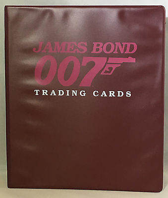 Eclipse James Bond Series 1 & 2 – Complete w/ Chase Cards and Binder. Free Ship