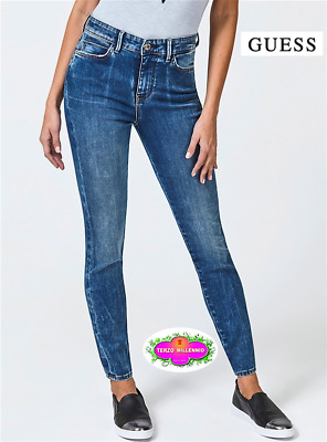 low priced bd191 09390 GUESS JEANS DONNA 1981 W83A46 D38N0 Nuova Collezione