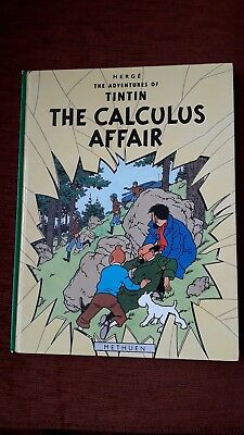 The Calculus Affair (Adventures of Tintin) by Herge | Hardcover Book |