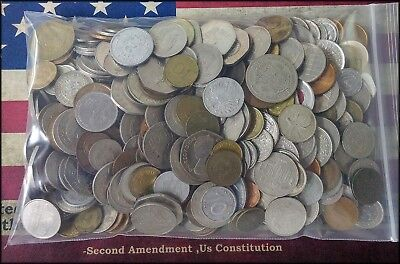 5+ Pounds World Foreign Coins - Fresh Lot