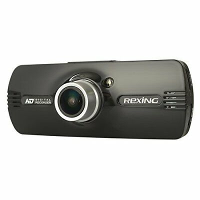 """Rexing F9 2.7"""" LCD FHD 1080p 170° Wide Angle Car Dashboard Camera Recorder Dash"""