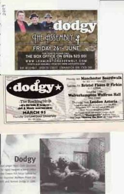 DODGY : CUTTINGS COLLECTION -adverts-