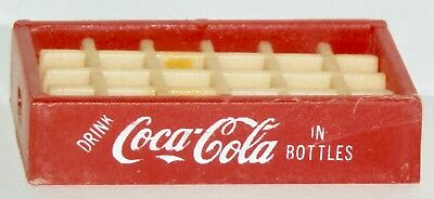 "Miniature Red 24 Bottle Case Of Coca-Cola 2 1/4"" In Length *no Bottles Included*"