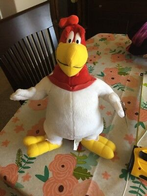 Looney Tunes Foghorn Leghorn Rooster Plush 13 Inch Stuffed Plush Toy Warner Bros