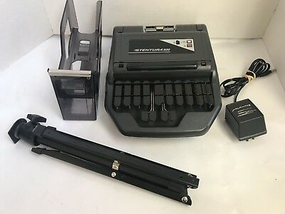 Stentura 500 SRT Electric Stenograph Court Reporting Machine + Extras