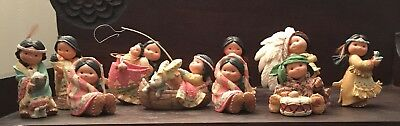Lot of Ten Enesco Friends of the Feather Figurines