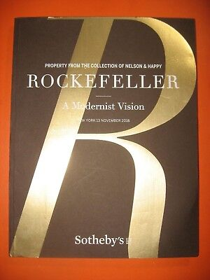 Nelson Rockefeller Modern Art Sothebys  2018 November Auction Catalog  Impressio