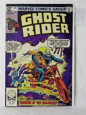 Marvel Ghost Rider - 1st Series Issue No: 61 - Wizardous Waters Run Deep