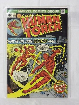 Marvel The Human Torch - 1st Series Issue No: 1 - Flaming 1st Issue