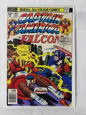 Marvel Captain America & The Falcon - 1st Series Issue No: 205