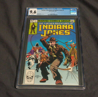 The Further Adventures Of Indiana Jones #1 Marvel Comics Copper Age White Pages