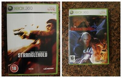 Pack 2 juegos Xbox 360 STRANGEHOLD y DEVIL MAY CRY 4 games