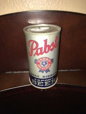 Pabst Blue Ribbon Export Beer IRTP/OI Flat Top Beer Can ** No Reserve**