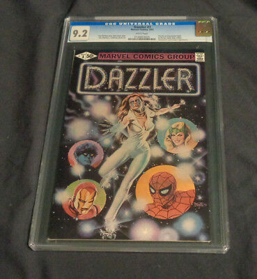 Dazzler #1 Marvel Comics Bronze Age Cgc Graded 9.2 First Direct Distribution