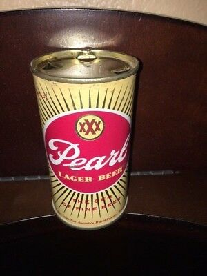 Pearl Beer Flat Top Beer Can ** No Reserve**