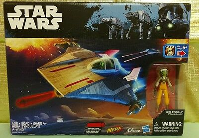 Star Wars Hera Syndulla A-Wing Rouge One Rebels Hasbro New Nerf Action Figure