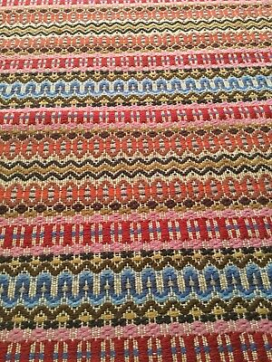 Antique Swedish Wool Fibre Art Textile Wall Hanging Or Rug