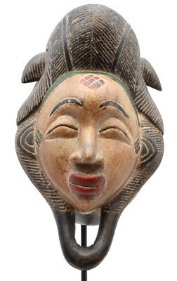 Vintage Punu Dance Mask Ritual African Art from Gabon africa Tribal africa