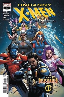 Uncanny X-Men #1  Marvel Comic Book 1st Print 2018  Nm