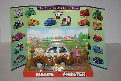 "Chevron Cars ""MADDIE MUDSTER"" 2004 with Free Brochure! NEW in Package NOS"