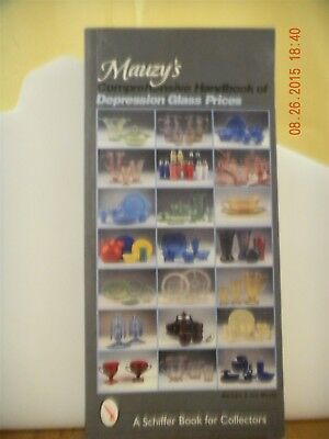 Mauzy's Comprehensive Handbook of Depression Glass Prices Schiffer Book 1999