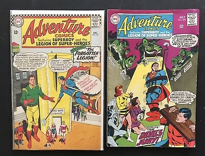 ADVENTURE COMICS 351. DC Silver Age. Superboy. Smallville. Mon-El. Free Shipping