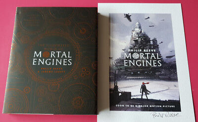 The illustrated World of Mortal Engines Philip Reeve Signed Numbered Ltd Edition