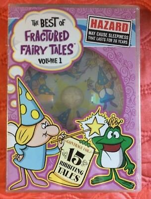 The Best of Fractured Fairy Tales Volume 1 new DVD 2005   Rocky and Bullwinkle
