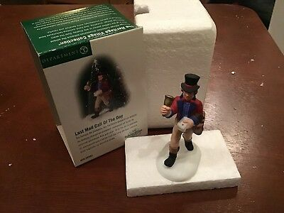 Dept 56-Dickens Village- LAST MAIL CALL OF THE DAY- 56.58562