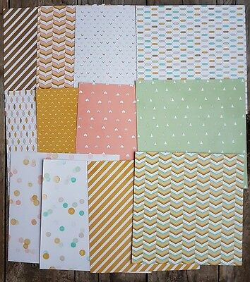 Stampin up 6×6 paper share Lullaby Designer Paper 12 sheets