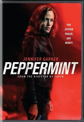 """peppermint "" Brand New Dvd Factory Sealed Free Shipping Pre Sale 12/11"