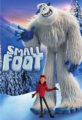 """smallfoot "" Brand New Dvd Factory Sealed Free Shipping Pre Sale 12/11"