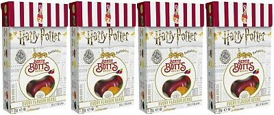 4x Jelly Belly Harry Potter Bertie Botts Flavour Beans 35g American Sweets