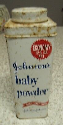Johnsons baby powder economy 12.5 oz net tin container