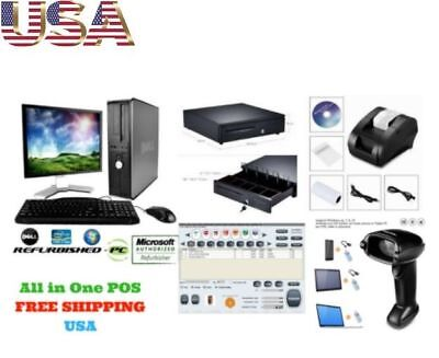 Low price Full POS all-in-one Point of Sale System Combo Kit Retail Store BEST