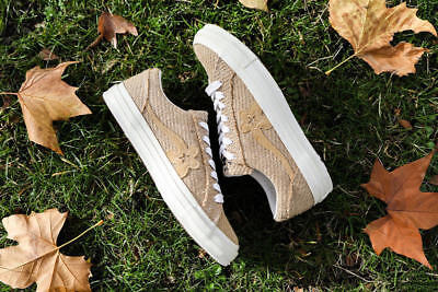 Converse One Star Ox Golf Le Fleur Burlap Size 5-12 BRAND NEW IN HAND