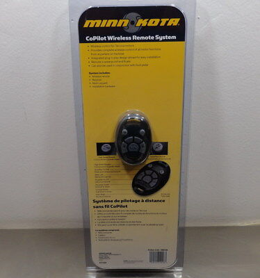 New Minn Kota Terrova Co-Pilot Wireless Remote System 1866160 / Kim-741287