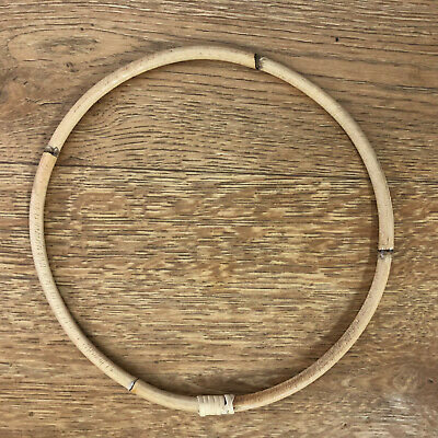 17cm RATTAN HOOP RING DreamCatcherRing/Florist/Macrame/Craft/DIY/WallArt/Wedding