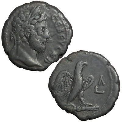 Alexandrian tetradrachm of Commodus.   Eagle reverse.