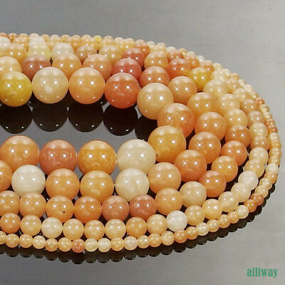 Natural Red Aventurine Gemstone Round Beads 16'' 2mm 3mm 4mm 6mm 8mm 10mm 12mm