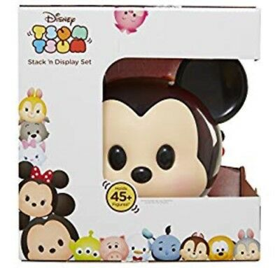 Disney Tsum Tsum Mickey Mouse Stack N Display Set Carrying Case Exclusive Figure