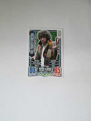 Doctor Who Alien Attax 50th Anniversay set - TM13 The Fourth Doctor