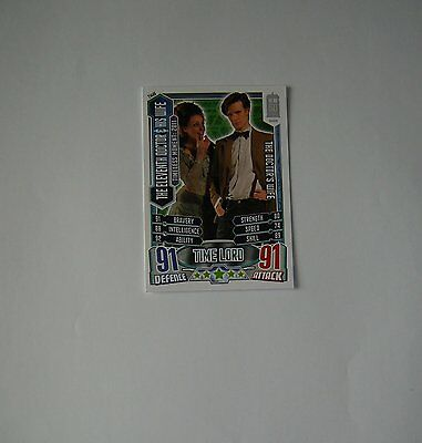 Doctor Who Alien Attax 50th Anniversay set TM46 Eleventh Doctor & his wife